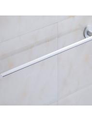 Bathroom Hardware Pendant Bathroom Space Aluminum Towel Bar Single Layer Towel Rack Shelf