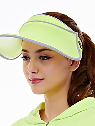 Women Summer Outdoor UV Sunshade Telescopic Foldable Solid Color Empty Top Hat