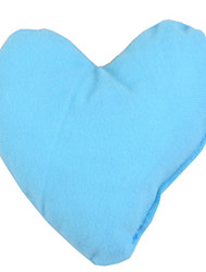Dog Toy Pet Toys Plush Toy Heart Blue / Orange Textile