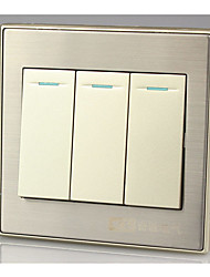 panneau de commande 86 mural interrupteur à trois mono-panneau