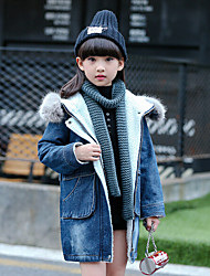 Menina Terno & Blazer Casual Estampado Inverno / Primavera / Outono Algodão / Poliéster Manga Longa