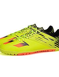 Femme-Décontracté / Sport-Noir / Jaune / Blanc / Argent-Talon Plat-Confort-Chaussures d'Athlétisme-Polyuréthane