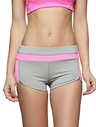 Corrida Shorts Mulheres Respirável / Macio / Confortável Náilon Chinês Ioga / Corridas / Esportes Relaxantes / Corrida Stretchy Apertado