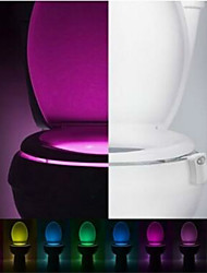 Motion Activated Toilet Nightlight LED Toilet Light Bathroom Washroom