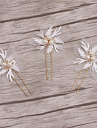 Women's Alloy / Imitation Pearl Headpiece-Wedding / Special Occasion / Casual Hair Clip / Hair Pin 1 Piece