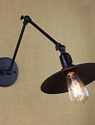 recurso pintura rústica / lodge e26 / e27 de estilo mini / braço oscilante / lâmpada sconceswall parede includeddownlight