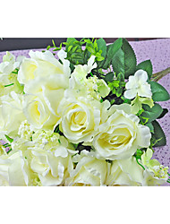 Свадебные цветы Круглый Лилии Букеты Свадьба Гербарий Около 19 см