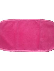 Makeup Watte Mikrofaser 1pcs Quadratisch 19.5cm*6.5cm*4cm Normal Schwarz / Rosa / Rose