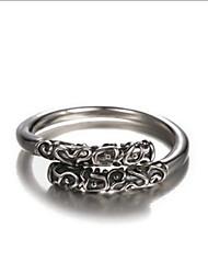Ringe Party / Alltag / Normal Schmuck Aleación Herren Ring 1 Stück,Eine Größe Silber
