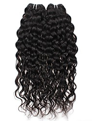 Water Wave Human Hair Weaves Brazilian Texture 200g 8-28inches Human Hair Extensions