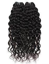 Onda de Água Tramas de cabelo humano Cabelo Brasileiro 200g 8-28inches Extensões de cabelo humano
