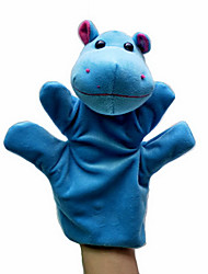 Animal Hippo Hand Puppets Even Plush