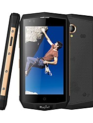 "Rugtel DIAMOND X16 4.5 "" Android 5.1 Celular 4G (Chip Duplo Quad núcleo 8 MP 2GB + 16 GB Dourado / Marrom)"