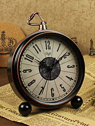 Alarm Clock with Matel Case/Vintage Style