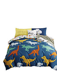 Betterhome ABC Edition Reactive Printing Duvet Cover Sets Fashion Comfortable Series Bedding Four Sets