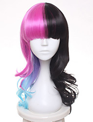 New Melanie Martinez Wig Women's Fashion Culy Omber Synthetic Hair Cosplay High temperature wire Wigs