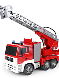 LKW 1:20 RC Car 2.4G Rot Fertig zum MitnehmenFerngesteuertes Auto / Fernsteuerung/Sender / Akku-Ladegerät / Bedienungsanleitung /