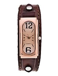 Женские Спортивные часы Нарядные часы Модные часы Наручные часы Повседневные часы Панк Кварцевый Кожа ГруппаВинтаж С подвесками