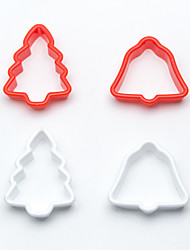 May Fifteenth DIY Christmas Tree Bell Cake Mold Biscuit Cookie Plunger Cutters Decor