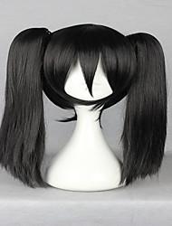 высший 50см длинный хвост черный Kagerou проект Эномото Takane косплей аниме парик