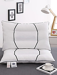 Cotton Super Soft Plush Feather Pillows Buckwheat Pillow Home Supplies  W48*L74cm Size
