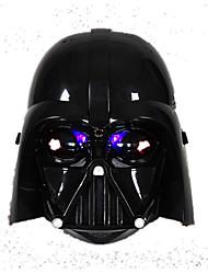 seção de capacete luz máscara cavaleiro negro
