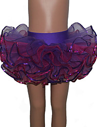 Ballet Tutus & Skirts Women's / Children's Performance Nylon / Tulle / Lycra Splicing / Color Block 1 Piece Tutus
