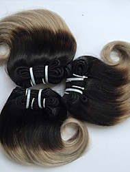 Brazilian Body Wave 4 Bundles Ombre Virgin Hair Body Wave,Unprocessed Raw Human Hair Weave Bundles 8inch Hot Sale.