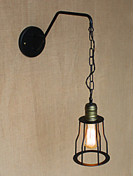 Restaurant Cafe Chain Corridors Iron Wall Lamp