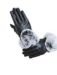 Typ u Herbst und Winter Touch-Screen aus echtem Leder warme Handschuhe