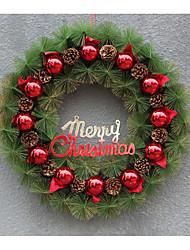 Christmas Plastic Wreath / Simulation Decoration