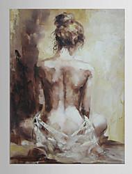 peint à la main peint à l'huile abstraite à la verticale, à l'art contemporain moderne et à l'ameublement pour décoration intérieure