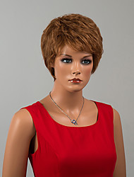 Attractive Short Capless Wigs Straight Human Hair