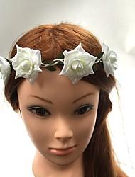 Femme Vannerie / Tissu Casque-Mariage / Occasion spéciale Serre-tête / Fleurs / Elastique 1 Pièce