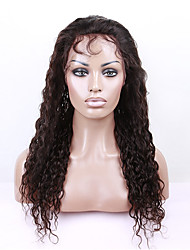 7A Glueless Front Lace Curly Human Hair Wigs Brazilian Small Curl Frontal Lace Wigs Lace Front Human Hair Wigs with Baby Hair For Black Women