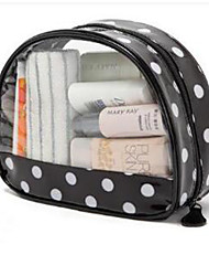 Transparent Visual Hand Wash Bag Large Cosmetics Bag.