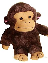 Игрушка для собак Игрушки для животных Интерактивный / Плюшевые игрушки / Игрушки с писком Скрип / Прочный Коричневый Хлопок