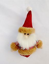 2pcs couleur aléatoire ont une ambiance de fête noël ornement cadeau de Noël décoration murale pendentif calendaire