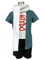 Naruto Anime Cosplay Costumes Coat / Shorts/T-shirt/ Scarf/Headpiece male