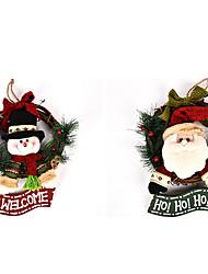 Brinquedos Decorações Natalinas Ternos de Papai Noel / Boneco de neve Desenho / Adorável / Alta qualidade / Fashion Decoração Para Festas