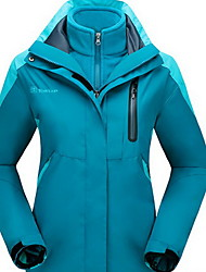 Hiking Tops Women's / Men's Waterproof / Thermal / Warm / Windproof / Insulated / Comfortable Spring / Fall/Autumn / Winter Memory Foam