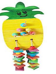 портативный дерево многоцветные птицы toys1pc