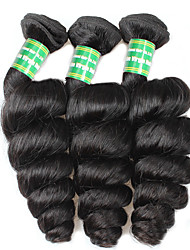 Brazilian Remy Hair Remy Weaves Loose Wave Remy Human Hair Weaves