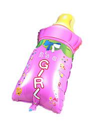 Balões Decoração Para Festas Forma Cilindrica alumínio Rosa Para Meninos / Para Meninas 5 a 7 Anos