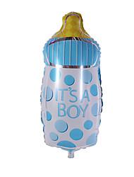 Balões Decoração Para Festas Forma Cilindrica alumínio Azul Para Meninos / Para Meninas 5 a 7 Anos