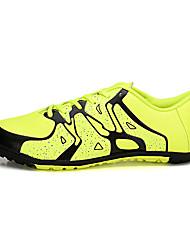 Femme-Sport-Bleu / Vert-Talon Plat-Confort-Chaussures d'Athlétisme-Tulle