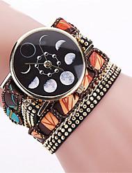 Fashion Moon Phase Astronomy Space Watch Casual Women Wrist Watch Relogio Feminino Gift