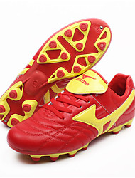 Soccer Shoes Soccer Cleats Soccer Shoes/Football Boots Men's Anti-Slip Soccer/Football Hiking Blue and White Red