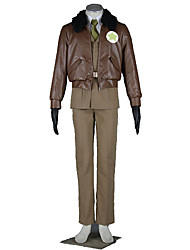 Hetalia Cosplay Costumes Top /  Coat / Shirt / Belt  / Tie /Gloves Kid