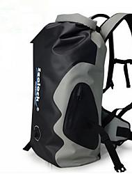 35 L mochila Pacotes de Mochilas Pesca Ciclismo/Moto Acampar e Caminhar Prova-de-Água Á Prova-de-Chuva Vestível Respirável